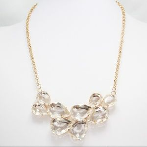 Golden Cluster Necklace